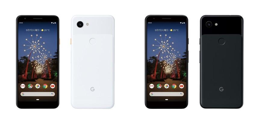 Google Pixel 3a_ドコモ本体カラー