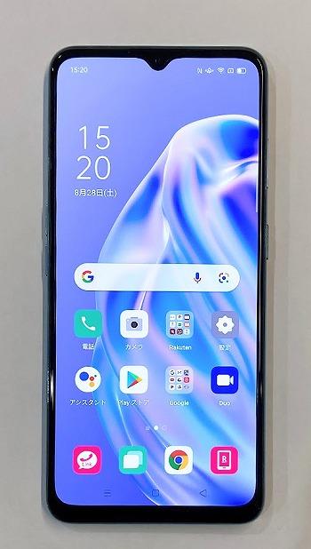 楽天モバイル OPPO Reno3 A 画面サイズ インチ