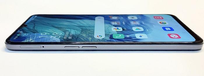 楽天モバイル OPPO A73 SIMスロット 音量ボタン