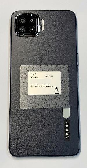 楽天モバイル OPPO A73 ネイビーブルー 色