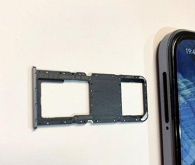 楽天モバイル OPPO A73 nanoSIM SDカード