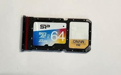 楽天モバイル OPPO Reno5 A SDカード 排他