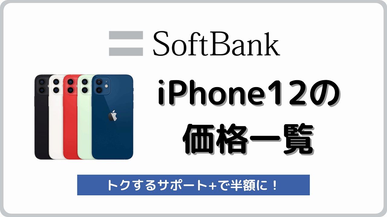 ソフトバンク iPhone12 iPhone12 Pro