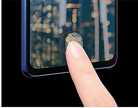 Galaxy A41 画面内指紋認証