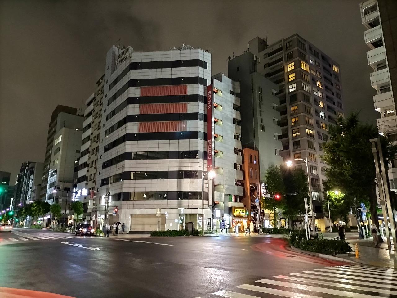 OPPO A54 5G カメラレビュー 写真 夜景