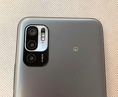 UQモバイル Redmi Note 10 JE カメラ