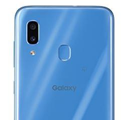 Galaxy A30_指紋認証センサー