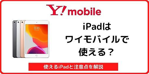 ワイモバイル iPad