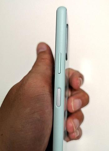 ワイモバイル Xperia 10 II 指紋認証センサー