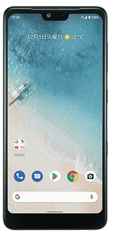 Android One S8 ディスプレイサイズ