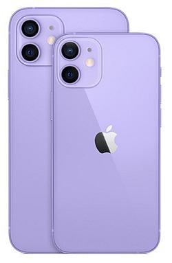 ワイモバイル iPhone12 iPhone12 mini 新色 パープル