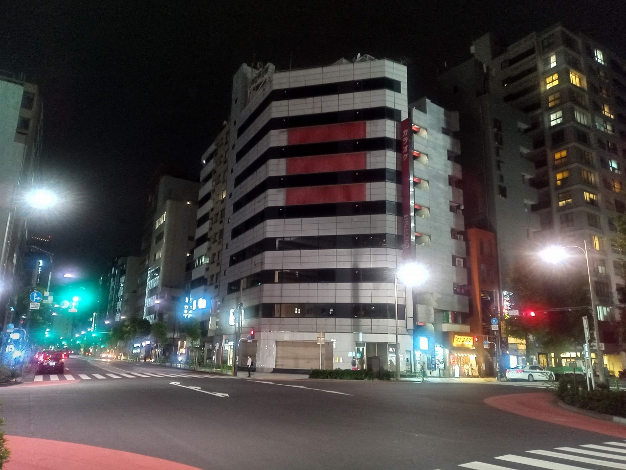 Android One S8夜景