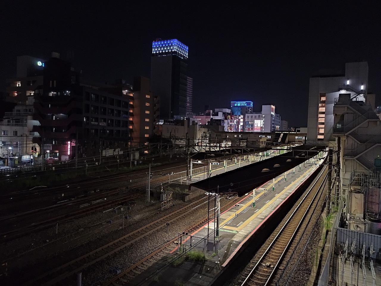 ワイモバイル Redmi 9T カメラ 夜景 レビュー