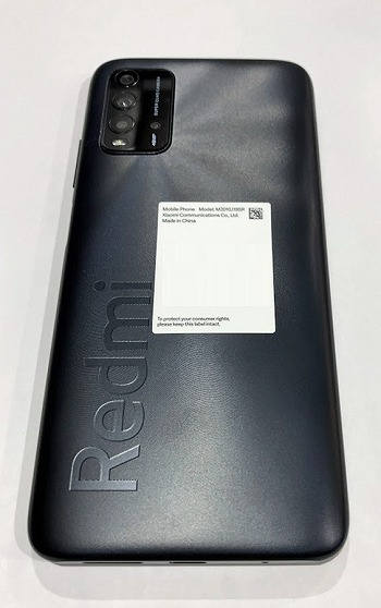 ワイモバイル Redmi 9T 色 ブラック